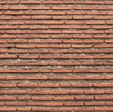 Roman brick texture wallpaper. Roman brick texture wall. Ancient ruins Royalty Free Stock Photography