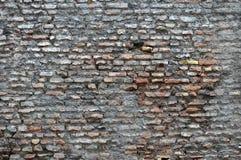 Roman brick wall Royalty Free Stock Images