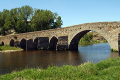 Roman bridge Royalty Free Stock Photography