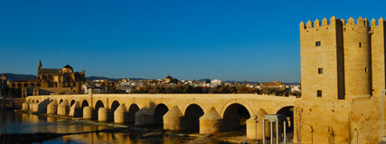 Roman bridge Royalty Free Stock Photo