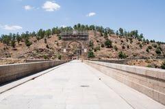 Roman bridge of Alcantara, Extremadura, Spain Stock Photography