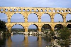 Roman bridge and aqueduct Royalty Free Stock Image