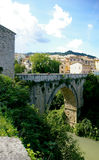 Roman bridge in Ascoli Royalty Free Stock Images
