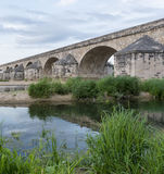 Roman Bridge. Roman brdige at Pouilly lez Gien in France Stock Photos