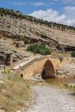Roman bridge at Cendere Royalty Free Stock Images