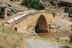 Roman bridge at Cendere Royalty Free Stock Photos