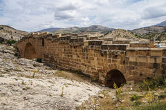 Roman bridge at Cendere Stock Photos