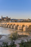 Roman bridge in Cordoba, Andalusia, southern Spain. Stock Images