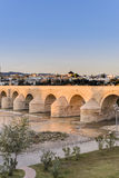 Roman bridge in Cordoba, Andalusia, southern Spain. Stock Image