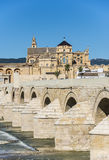 Roman bridge in Cordoba, Andalusia, southern Spain. Royalty Free Stock Image