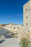 Roman bridge in Cordoba, Andalusia, southern Spain. Royalty Free Stock Photos