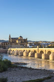 Roman bridge in Cordoba, Andalusia, southern Spain. royalty free stock photography