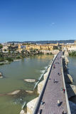 Roman bridge in Cordoba, Andalusia, southern Spain. Royalty Free Stock Photography