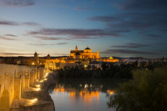 Roman bridge from Cordoba Stock Image