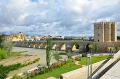 Roman bridge of Cordoba Royalty Free Stock Images
