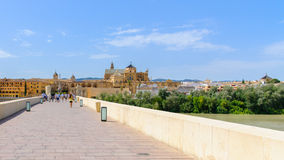 Roman bridge of Cordoba Royalty Free Stock Photos