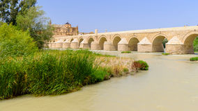 Roman bridge of Cordoba Royalty Free Stock Photo
