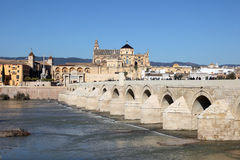 The Roman Bridge of Cordoba, Spain Stock Photo