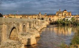 Roman bridge of Cordoba Stock Photo