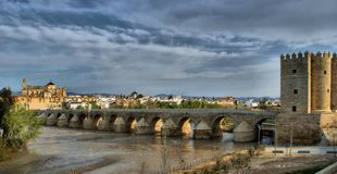 Roman bridge of Cordoba Royalty Free Stock Photography