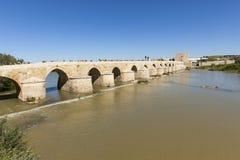 Roman bridge at Cordoba, Spain royalty free stock images