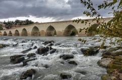 Roman Bridge de Misis fotografia de stock royalty free