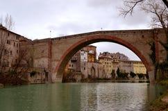 Roman bridge Stock Photo