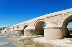 Roman bridge and Guadalquivir river in Cordoba, Andalusia, Spain. Royalty Free Stock Photography