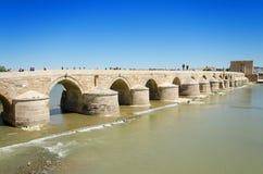 Roman bridge and Guadalquivir river in Cordoba, Andalusia, Spain Royalty Free Stock Photography