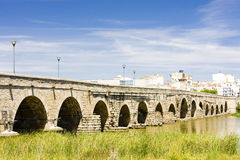 Roman bridge, Merida Stock Photography