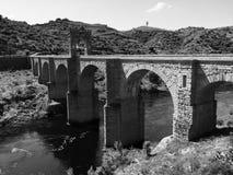 Roman Bridge millénaire images libres de droits