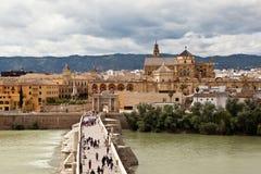 Roman Bridge (Puente romano de Córdoba). Cordova. Spain Stock Image