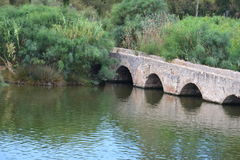 Roman bridge Royalty Free Stock Image