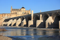 Roman bridge in Spain Stock Photography