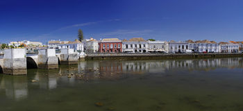 Roman bridge in Tavira Royalty Free Stock Images