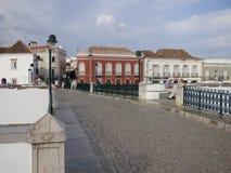 Roman bridge Tavira Royalty Free Stock Images