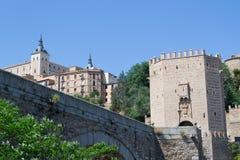 Roman bridge in Toledo Stock Photo