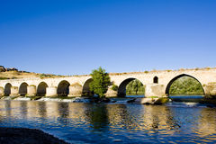 Roman bridge, Toro Stock Photos