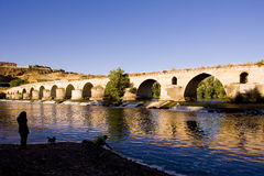 Roman bridge, Toro Royalty Free Stock Photos