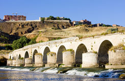 Roman bridge, Toro. Roman bridge of Toro, Zamora Province, Castile and Leon, Spain Stock Photography