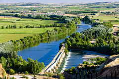 Roman bridge, Toro. Roman bridge in Toro, Zamora Province, Castile and Leon, Spain Stock Image