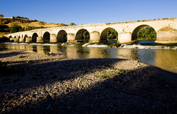 Roman bridge, Toro. Roman bridge in Toro, Zamora Province, Castile and Leon, Spain royalty free stock image