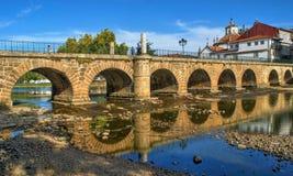 Roman bridge of Trajano stock photo