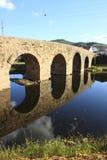 Roman brug Stock Foto