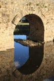 Roman brug Royalty-vrije Stock Afbeeldingen