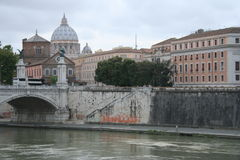 Roman brug Stock Afbeelding