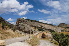 Roman brug in Cendere Royalty-vrije Stock Afbeeldingen