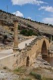 Roman brug in Cendere Stock Afbeeldingen