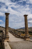 Roman brug in Cendere Stock Afbeelding
