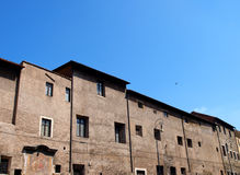 Roman buildings Royalty Free Stock Photography